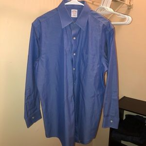 Blue Brooks Brothers Button Down